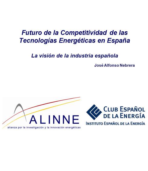 Documento de Futuro de Competitividad. Tecnologías Energéticas de España