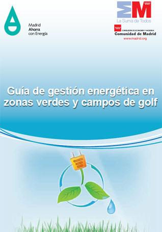 Documento de Gestión energética. Zonas verdes y campos de golf
