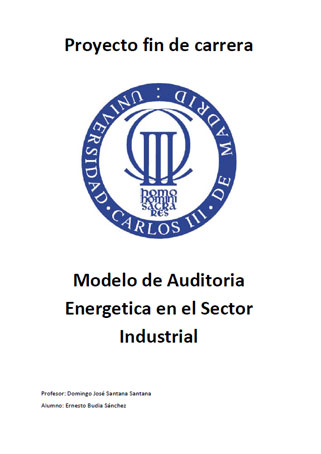 Documento de Modelo de Auditoria Energetica en el Sector Industrial