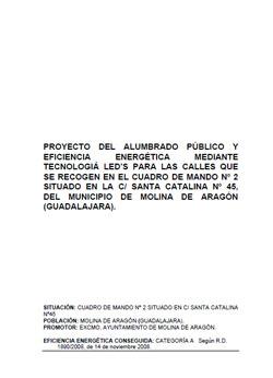 Documento de Proyecto Alumbrado