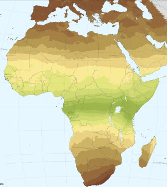 Documento de Mapa Solar Africa