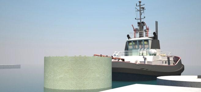Un innovador sistema de composites para el amarre de embarcaciones