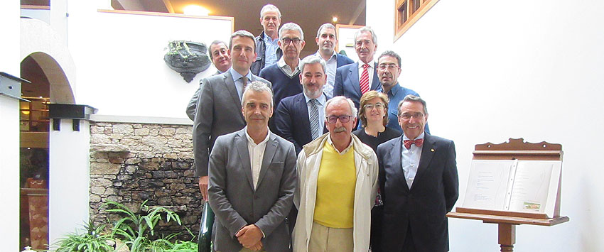 Homenaje del Consello Galego de Enxeñerías a tres de sus fundadores
