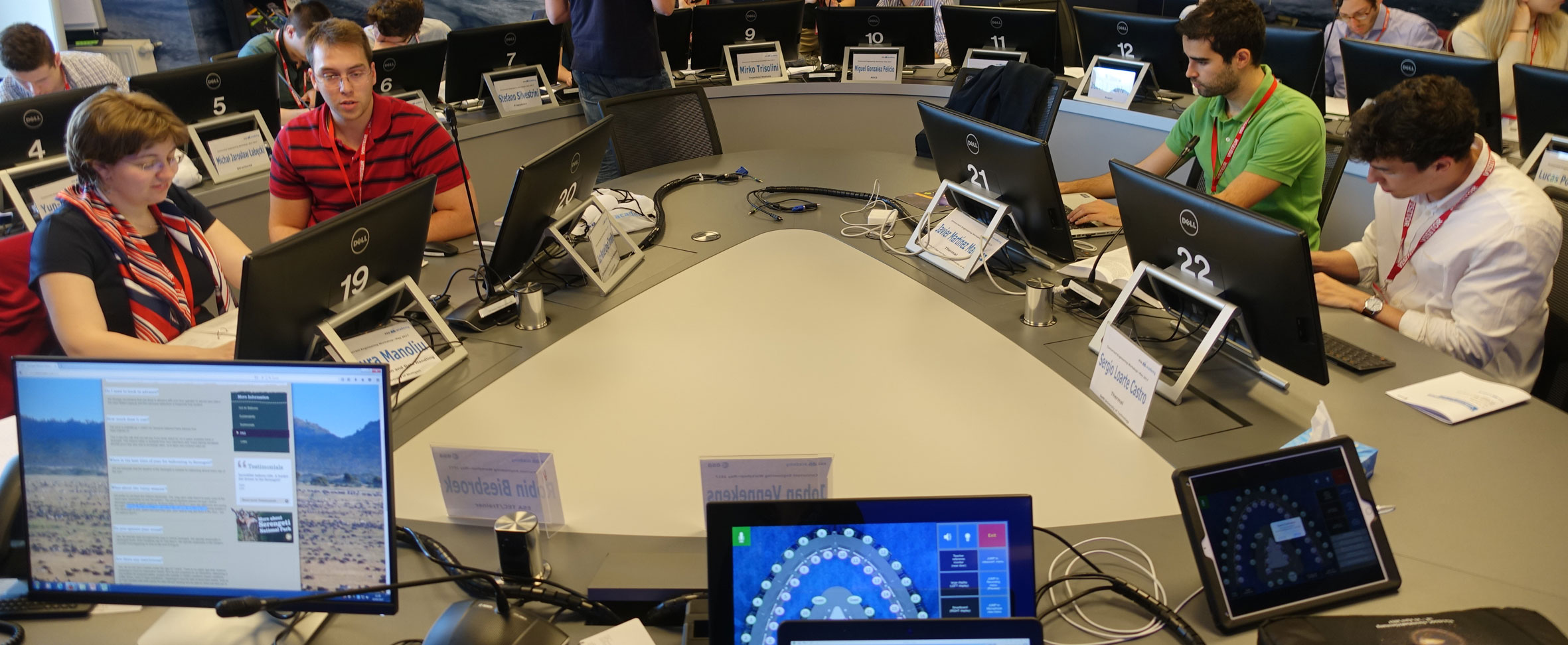La ETSIAE de la Politécnica de Madrid es una de las sedes elegidas para el reto de Ingeniería concurrente de la Agencia Espacial Europea
