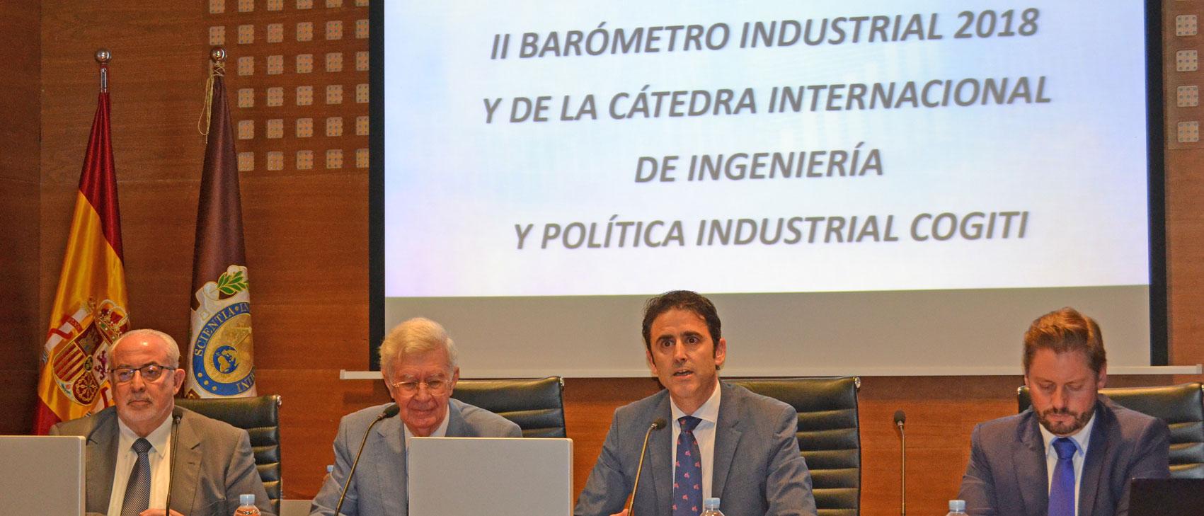 Los ingenieros confían en el sector industrial, pero suspenden la labor de las Administraciones