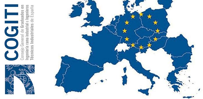 El presidente del COGITI pide a la Comisión Europea que impulse la Tarjeta Profesional Europea (TPE) para ingenieros