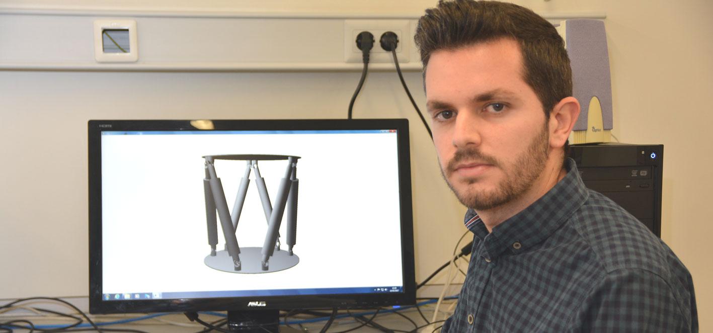 MTorres premia a un alumno de Industriales de la Politécnica de Cartagena por facilitar el diseño y control de las plataformas robóticas