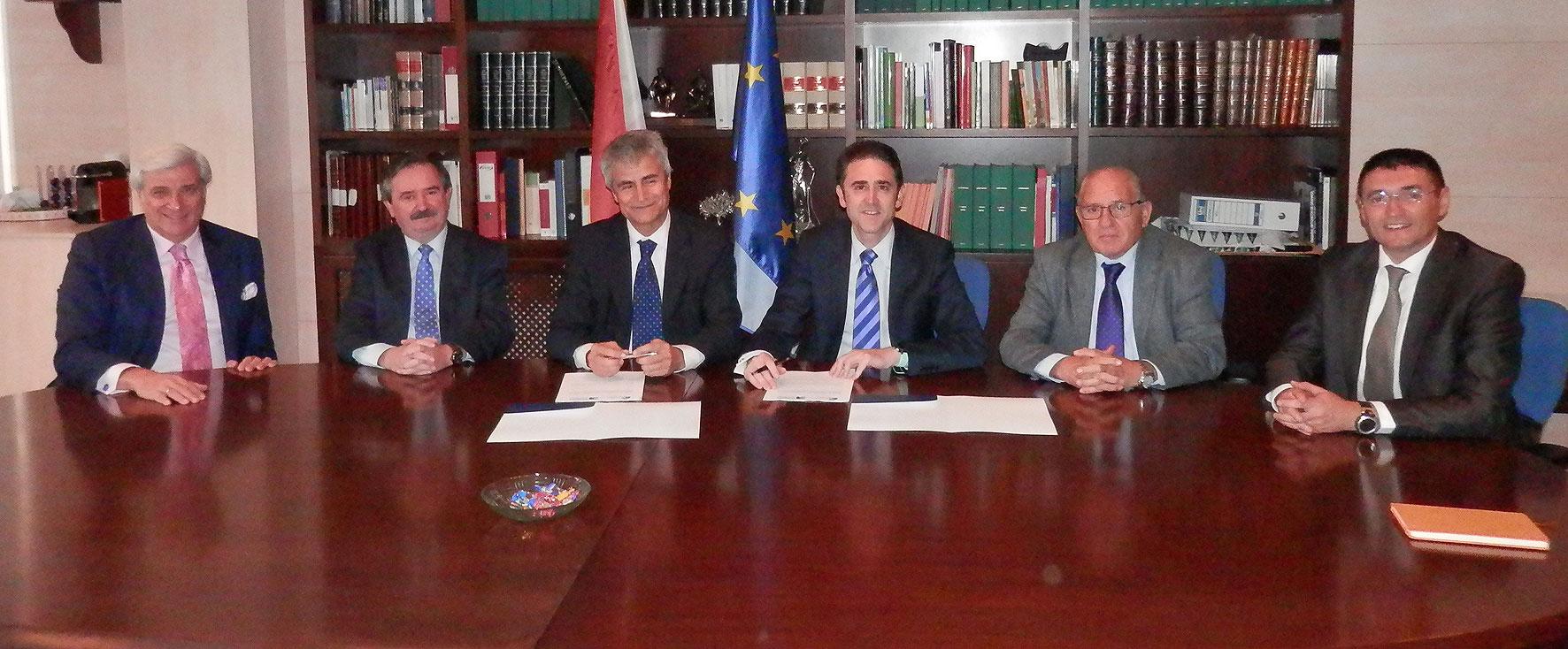 COGITI y FEDAOC firman un convenio de colaboración en materia de seguridad industrial