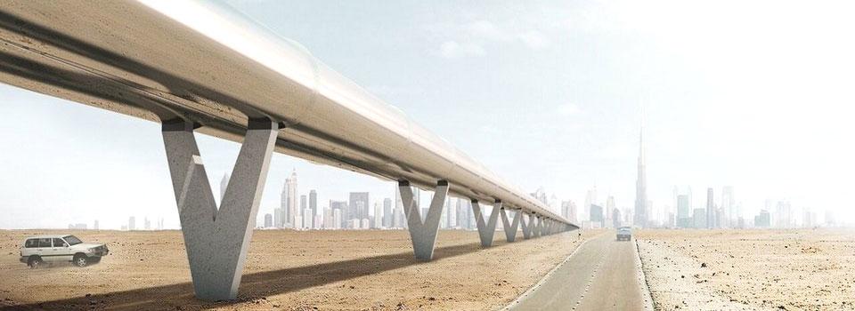 El primer proyecto de transporte Hyperloop puede hacerse realidad
