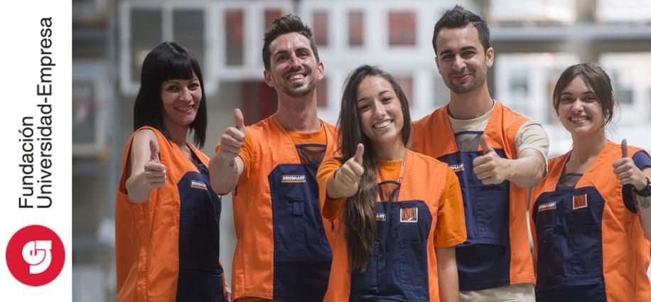 Bricomart ofrece contratos indefinidos en Galicia y Cataluña con el apoyo de la Fundación Universidad-Empresa