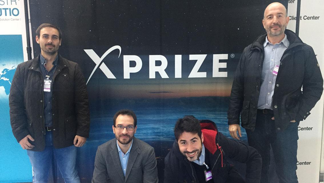 El equipo de PrimeX by FUE presenta su proyecto en el foro de IBM Watson AI XPrize en París