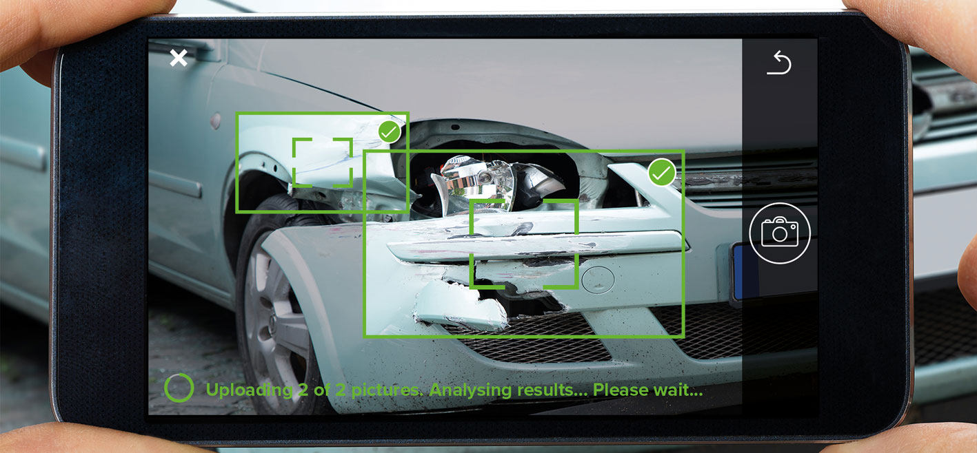 GFT. Ya es posible disponer del coste estimado de reparación de un siniestro en 20 segundos y solo con las fotos de un móvil