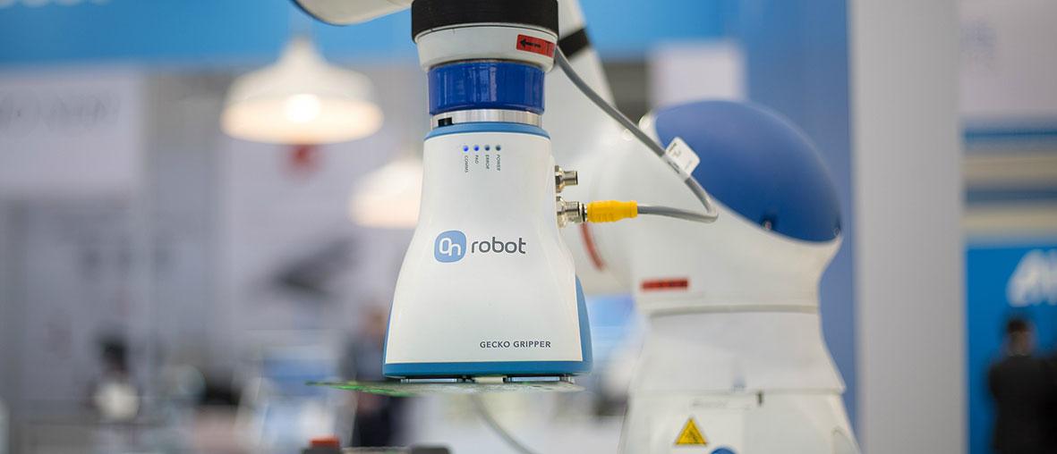 La pinza Gecko Gripper de OnRobot, premio en la categoría de Robótica en GR-EX