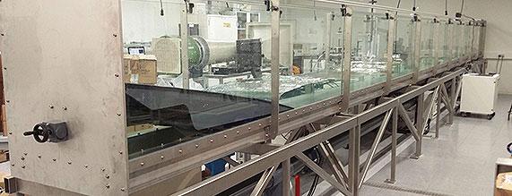 La ingeniería Dikoin crea un generador de olas para investigación en energías renovables