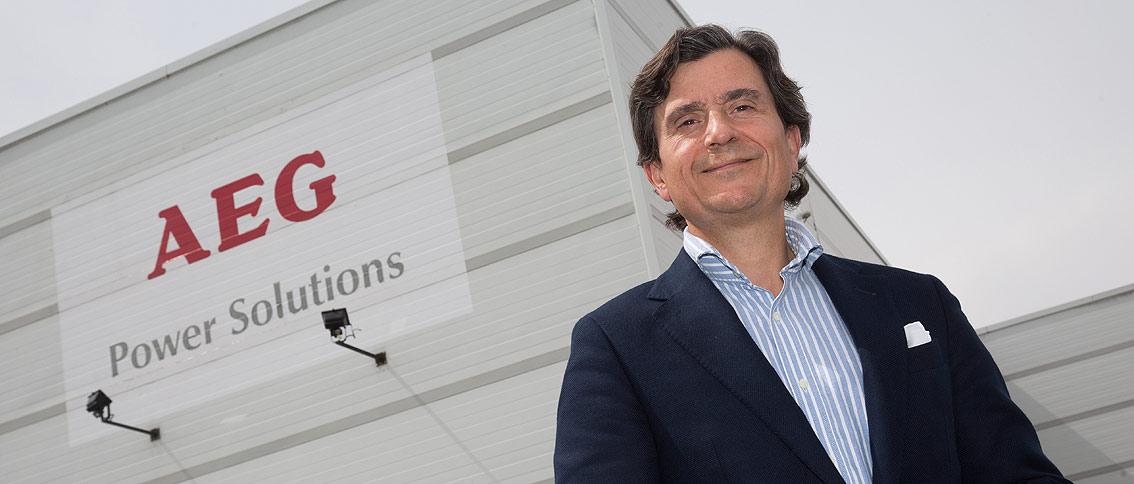 Javier Gómez, nuevo director general de AEG Power Solutions Ibérica