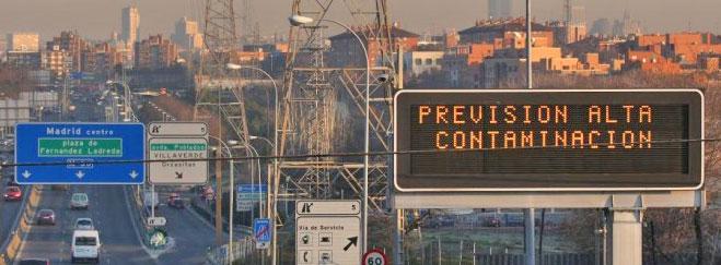 Madrid, entre las peores ciudades europeas en calidad del aire