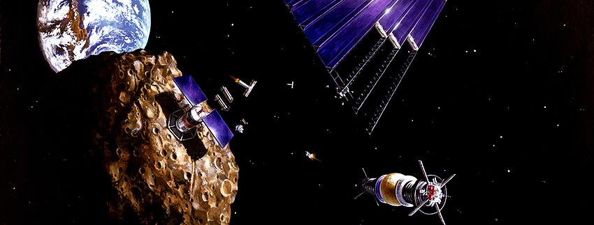 Minería espacial, temática del V Seminario Actividades Espaciales y Derecho en ETSIAE