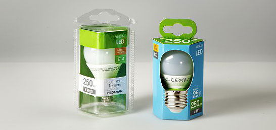 Usar cartón en lugar de material plástico puede reducir las repercusiones climáticas del embalaje en un 99 por ciento
