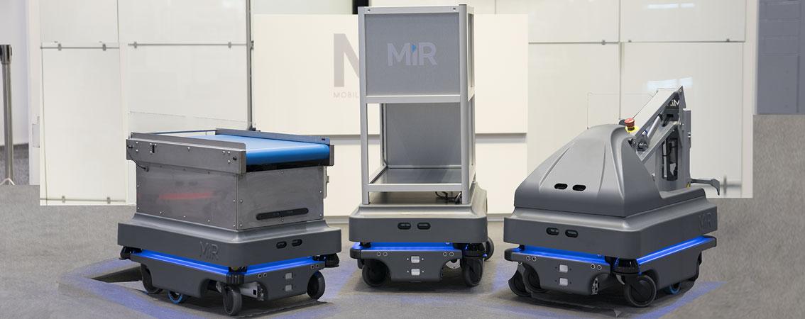 Mobile Industrial Robots, líder de la robótica colaborativa móvil, irrumpe con fuerza
