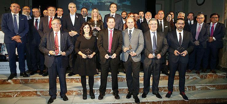 Los ingenieros industriales reconocen el talento industrial de Galicia