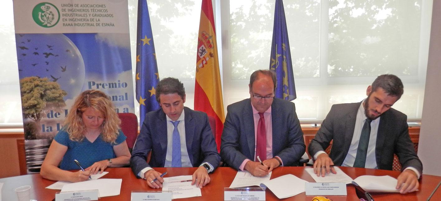 COGITI, profesores, directores y alumnos de Ingeniería de la rama industrial firman un manifiesto para el fomento de la educación tecnológica en la ESO y Bachillerato