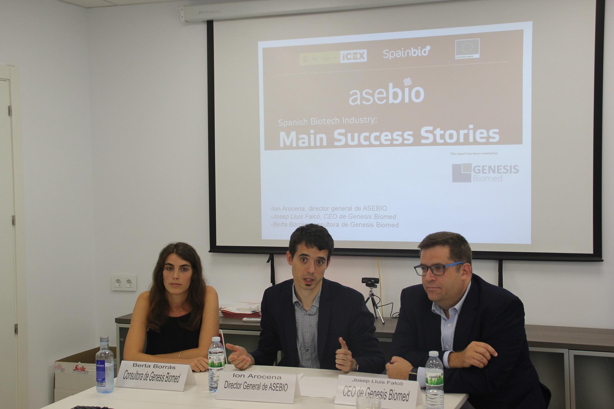 Asebio, 20 casos de éxito de la biotecnología española de los últimos 10 años