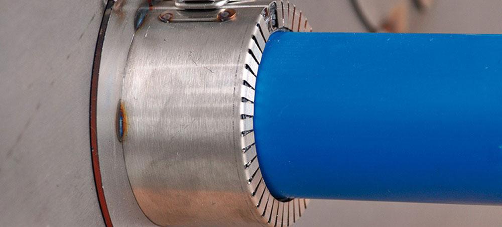 Roxtec presenta nuevos sellos para tuberías de plástico para su uso en estructuras de aluminio