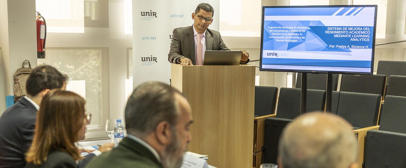 Nueva tesis doctoral en UNIR sobre un modelo online para mejorar el rendimiento académico de los alumnos