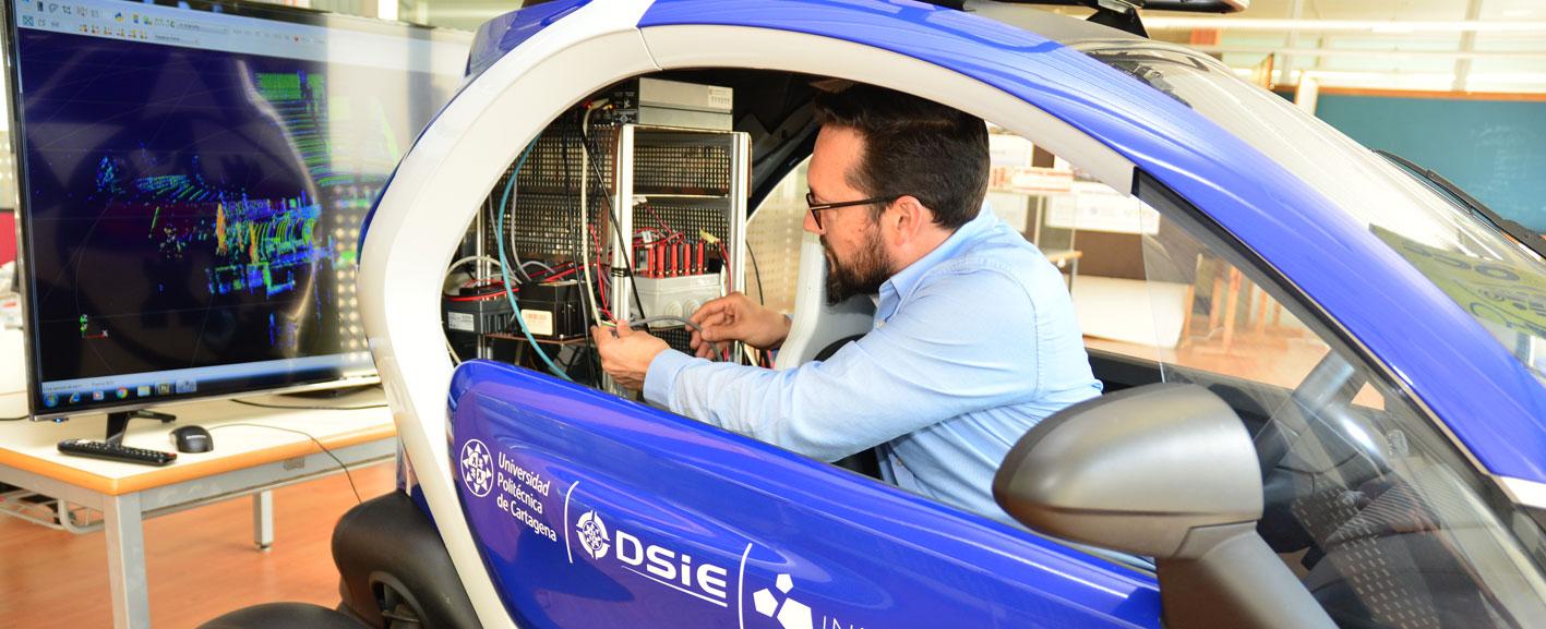 La UPCT crea un sistema de conducción autónoma basado en el razonamiento humano