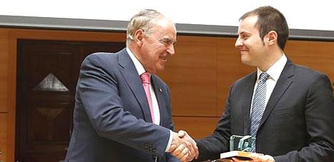 La Asociación de antiguos alumnos de la ETS de Ingenieros Industriales de Madrid entrega el 'Premio Ingeniero 2015'