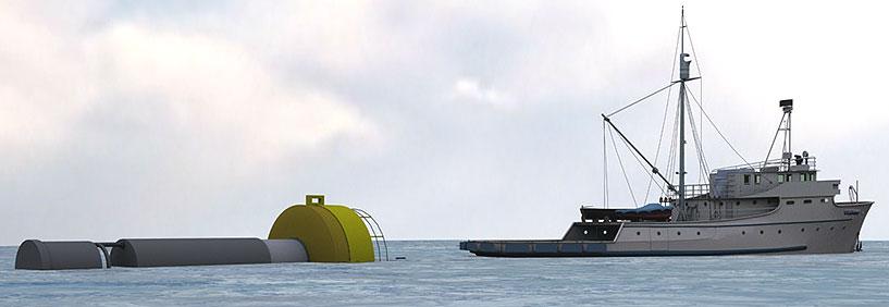 Oceantec Energías Marinas instala su primer generador undimotriz