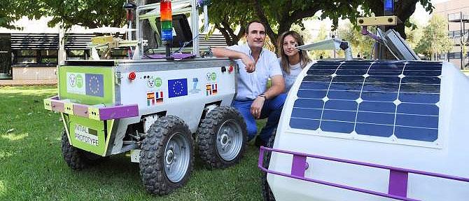 Un nuevo prototipo de robot ayudará en las labores vitícolas