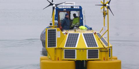 Se instala en la costa de Holanda una boya para medir el viento en parques eólicos marinos diseñada en la UPC