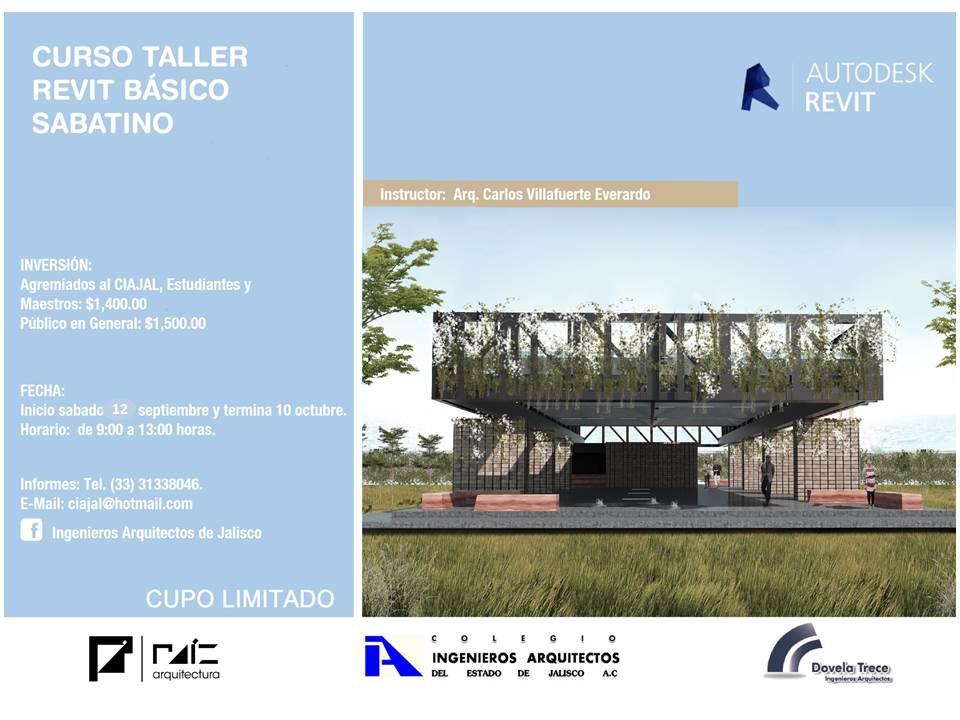 Colegio de ingenieros y arquitectos de jalisco mexico for Cursos para arquitectos