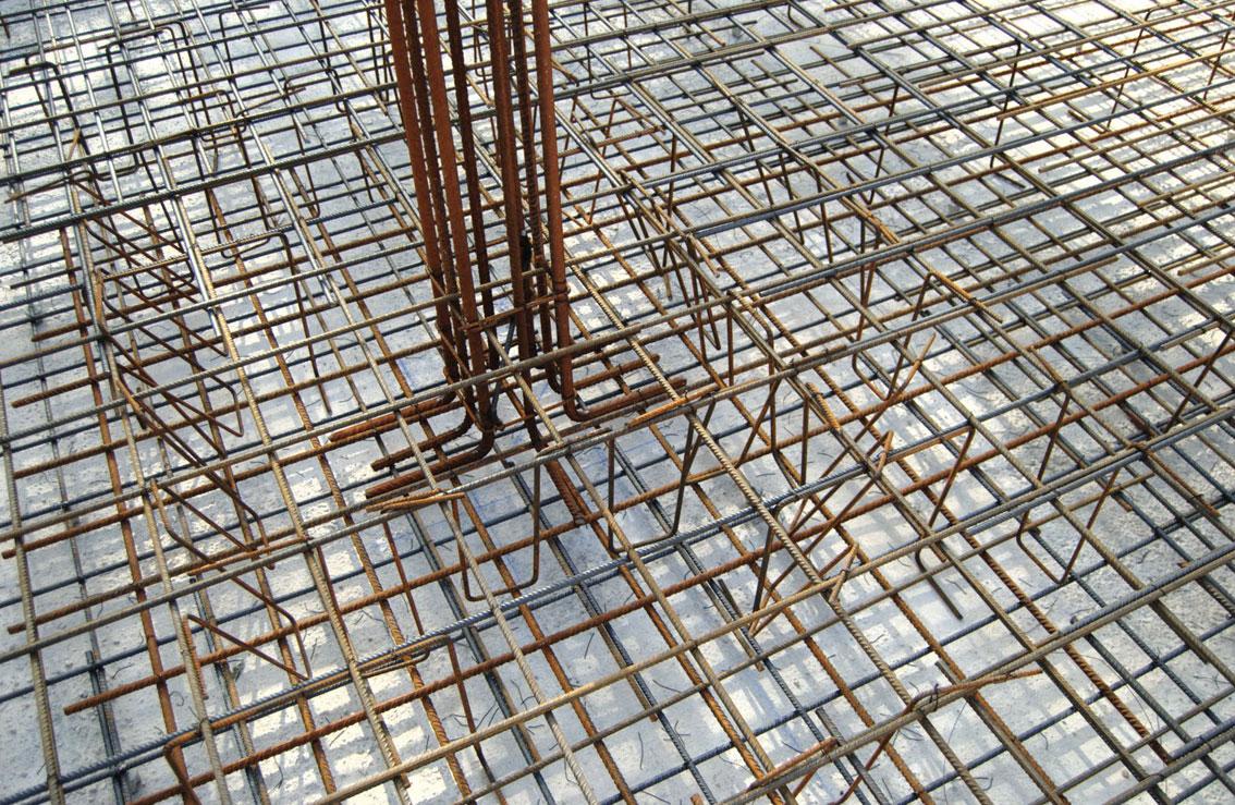 Hormig n y acero la pareja perfecta en una construcci n for Construccion de piletas de hormigon