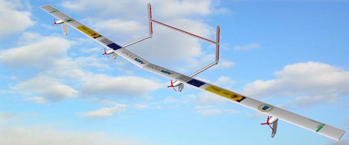 Prontas, prototipo del primer avión solar no tripulado español