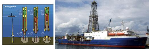 La perforación oceánica aporta datos de 55 millones de años del ciclo del carbono