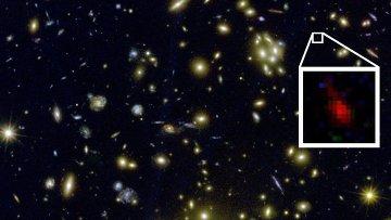 Galaxia MACS1149-JD formada 200 millones de años después del Big Bang