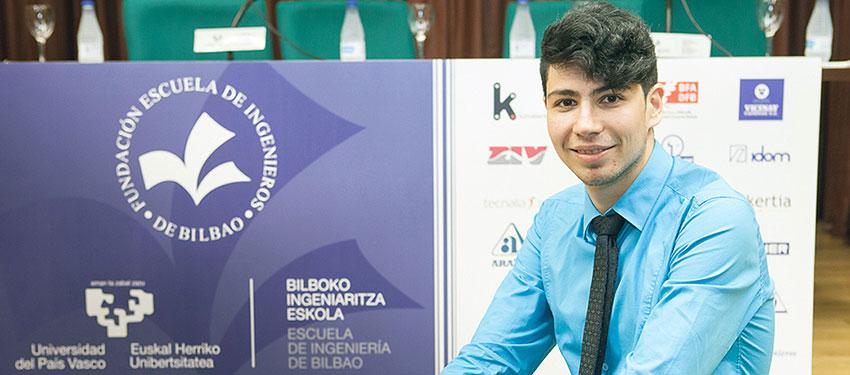 Un eficiente sistema de adquisición de datos para la industria 4.0 gana el premio Fundación Escuela de Ingenieros Bilbao