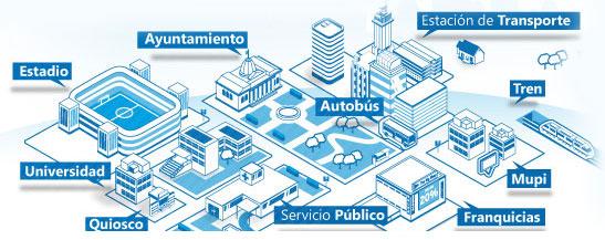Desarrollan un sistema para conectar los autobuses urbanos con la Smart City