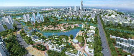 """La ecociudad de Tianjin """"abre sus puertas"""""""