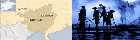 La contaminación del río Longliang eleva la compra de agua potable