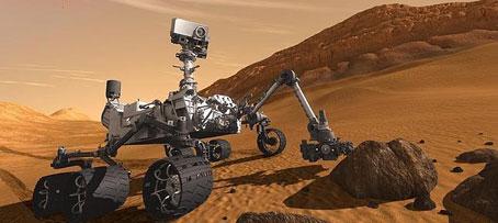 Curiosity ya está en Marte