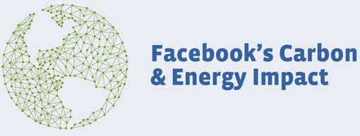 Huella de carbono de Facebook