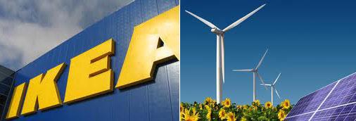 Ikea persigue mejorar su sostenibilidad y ser autosuficiente energéticamente