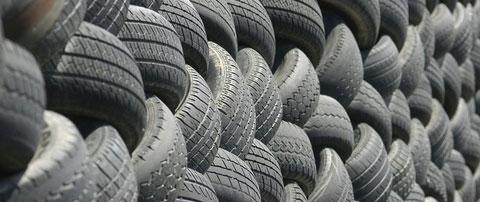 Hasta el 70% de los neumáticos usados acaban en vertederos