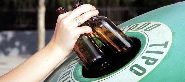España recicla de media 14,5 kg de vidrio por habitante y año