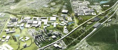 Skolkovo Smart City. Diseño y sostenibilidad para la cuidad del conocimiento de Europa