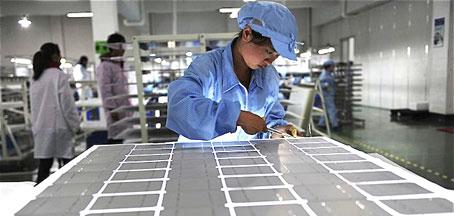 La UE aplica medidas contra el dumping de los paneles fotovoltaicos chinos