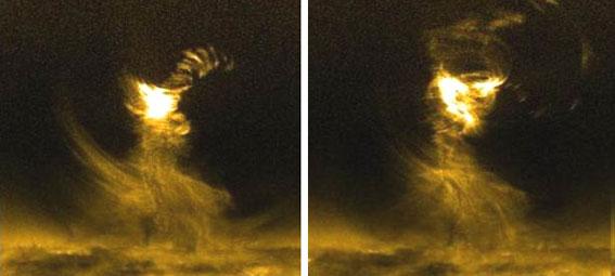 Tornados magnéticos en la superficie solar a 10.000 km/h